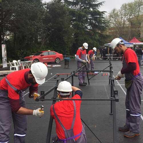 Boğaziçi Üniversitesi Çelik Köprü Yarışması